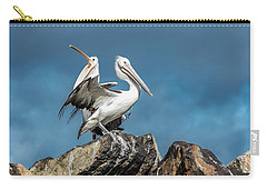 The Pelicans Carry-all Pouch by Racheal Christian