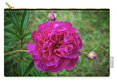 Carry-all Pouch featuring the photograph The Peonie by Mark Dodd