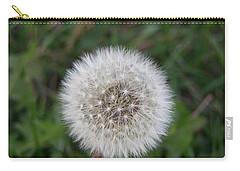 Carry-all Pouch featuring the photograph The Perfect Dandelion by DeeLon Merritt