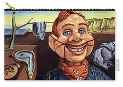 Carry-all Pouch featuring the painting The Persistence Of Doody by James W Johnson