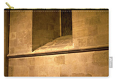 Carry-all Pouch featuring the photograph The Pew by Lorraine Devon Wilke
