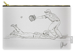 The Pick Off  Carry-all Pouch by Chris Thomas
