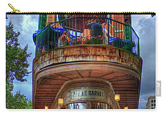 Carry-all Pouch featuring the photograph The Pickle Barrel Chattanooga Tn Art by Reid Callaway