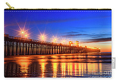 The Pier At Oceanside California Carry-all Pouch