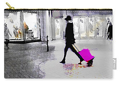 Carry-all Pouch featuring the photograph The Pink Bag by LemonArt Photography
