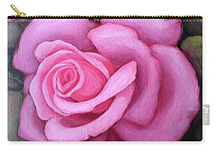 The Pink Dream Rose Carry-all Pouch