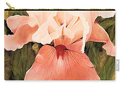 Carry-all Pouch featuring the painting The Pink Lady  by Laurie Rohner