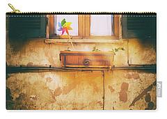 Carry-all Pouch featuring the photograph The Pinwheel by Silvia Ganora