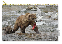 The Plight Of The Sockeye Carry-all Pouch