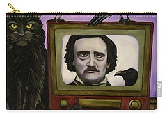 The Poe Show Carry-all Pouch by Leah Saulnier The Painting Maniac