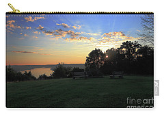 The Point At Sunrise Carry-all Pouch