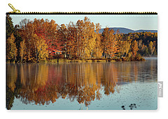 The Point Of Maine Fall Colors Carry-all Pouch