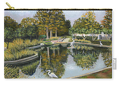 The Pond At Maple Grove Carry-all Pouch