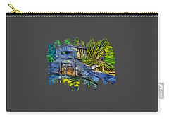 Carry-all Pouch featuring the photograph Blakes Pond House by Thom Zehrfeld