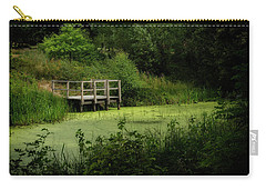 Carry-all Pouch featuring the photograph The Pond by Jeremy Lavender Photography