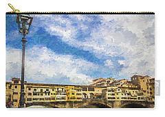 The Ponte Vecchio Bridge Carry-all Pouch