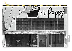 The Poppy, Coffee Shop, Fountain, Alvarado Street, Monterey Circ Carry-all Pouch