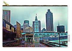 The Port Of San Francisco Carry-all Pouch