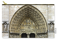 The Portal Of The Last Judgement Of Notre Dame De Paris Carry-all Pouch
