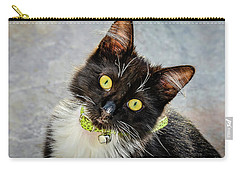 The Portrait Of A Cat Carry-all Pouch