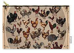 The Poultry Of The World 1868 Carry-all Pouch