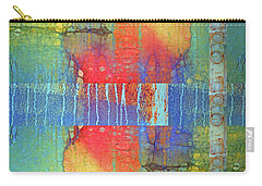 Carry-all Pouch featuring the digital art The Power Of Colour by Tara Turner