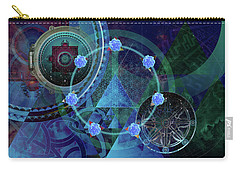 The Prism Of Time Carry-all Pouch by Kenneth Armand Johnson