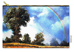 Carry-all Pouch featuring the painting The Promise  by Hazel Holland