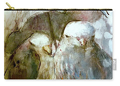 The Protection Of Friendship Carry-all Pouch
