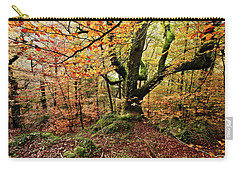 Carry-all Pouch featuring the photograph The Protector by Jorge Maia
