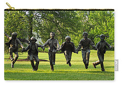 The Puddle Jumpers At Byers Choice Carry-all Pouch