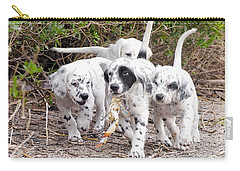 The Puppy's Prize Carry-all Pouch