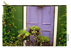 The Purple Door Carry-all Pouch