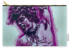 The Purple Prince   Carry-all Pouch by Darryl Matthews