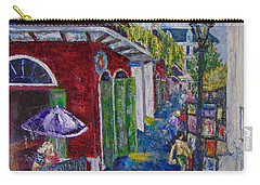 The Purple Umbrella        Pirates Alley Carry-all Pouch