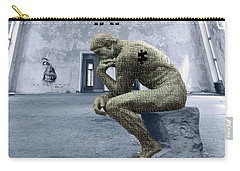 Carry-all Pouch featuring the photograph Puzzled by Juli Scalzi