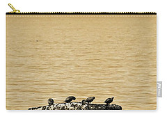 Carry-all Pouch featuring the photograph The Quatuor - Gold by Aimelle