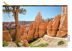 Carry-all Pouch featuring the photograph The Queens Garden Trail by Margaret Pitcher