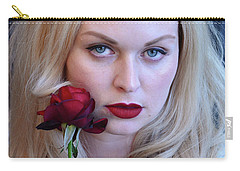 The Queen's Rose... Carry-all Pouch
