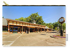 The Railroad Station In Scarsdale Carry-all Pouch