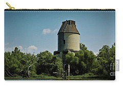 Carry-all Pouch featuring the photograph The Rankin Coal Tipple by Douglas Stucky