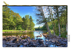 The Raquette River Carry-all Pouch by David Patterson