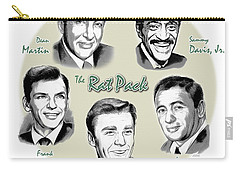 The Rat Pack Carry-all Pouch by Greg Joens