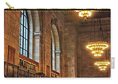 Carry-all Pouch featuring the photograph The Reading Room by Jessica Jenney