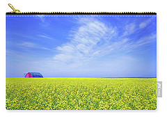 Carry-all Pouch featuring the photograph The Red Barn by Keith Armstrong