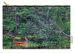 The Red Canoe Carry-all Pouch by David Patterson