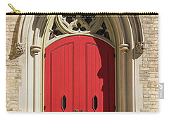 The Red Church Door. Carry-all Pouch
