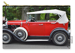 The Red Convertible Carry-all Pouch