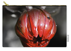 The Red Dahlia Carry-all Pouch