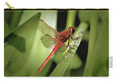 The Red Dragonfly Nbr.1 Carry-all Pouch